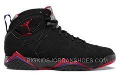 f104f7546fca 304775-018 Air Jordan 7 (VII) Raptor 2012 Black True Red Dark Charcoal Club  Purple A07003 Big Discount