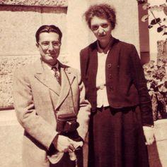 Dinu #Lipatti and Clara #Haskil