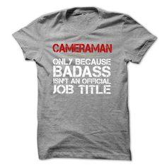 Funny Tshirt for CAMERAMAN T Shirts, Hoodies. Check price ==► https://www.sunfrog.com/Funny/Funny-Tshirt-for-CAMERAMAN.html?41382 $19.9