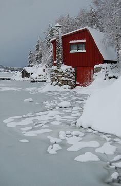 Fitjar,Hordaland Fylke,Norway~