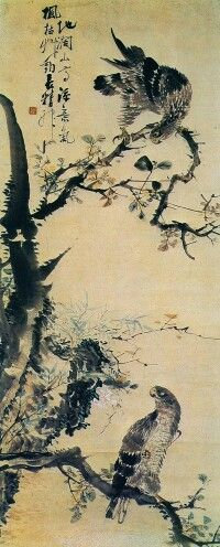 Hochwido - Korean painting by Jang Seung-eop known by his pen name Owon Korean Painting, Chinese Painting, Chinese Art, Arte Latina, Japan Painting, Korean Art, Historical Art, Art Database, Traditional Paintings