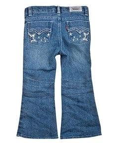 Levi's Kids Jeans, Little Girls Flare Jeans - Kids Toddler Girls (2T-5T) - Macy's