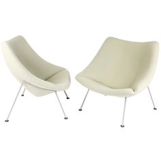 Pair of Armchairs Oyster by Pierre Paulin for Artifort ca1964