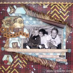 Outnumbered Layout - Teddy Bear's Picnic Collection