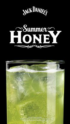 Summer Honey Nothing says summer like a cocktail bursting with fruit flavor. This easy recipe blends melon, pineapple and lemon-lime with Jack Honey. Liquor Drinks, Whiskey Drinks, Cocktail Drinks, Scotch Whiskey, Fruit Drinks, Irish Whiskey, Beverage, Mixed Drinks Alcohol, Alcohol Drink Recipes