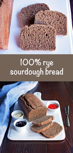 My simple recipe for rye sourdough bread made from whole ground rye flour without using any wheat. 100 Rye Bread Recipe, Rye Bread Recipes, Lowest Carb Bread Recipe, Sourdough Recipes, Bread Machine Recipes, Dark Rye Bread Recipe Bread Machine, Spelt Recipes, Keto Bread Coconut Flour, Keto Banana Bread