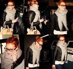 scarf.jacket.glasses.