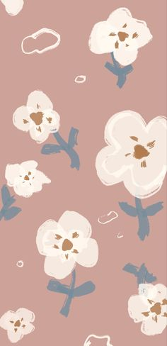 Cute Patterns Wallpaper, Aesthetic Pastel Wallpaper, Cute Wallpaper Backgrounds, Flower Wallpaper, Cute Wallpapers, Aesthetic Wallpapers, Phone Backgrounds, Homescreen Wallpaper, Iphone Wallpaper