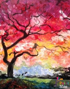 Paint Nite Edmonton | 04/30/15 Private Fundraiser for the Multiple Sclerosis Society of Canada