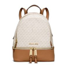 Michael Kors- Rhea back pack // brand new! Size SM Brand new Michael kors backpack !!!!! Super cute. Michael Kors Bags Backpacks