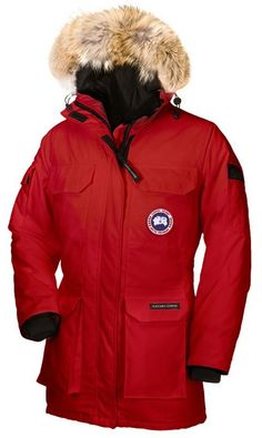 Canada Goose Expedition Parka Red Womens   $347