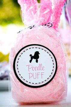 Pink Poodle Party | CatchMyParty.com                                                                                                                                                                                 More