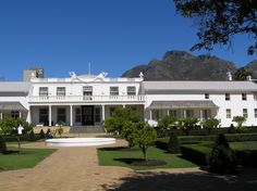 Tuynhuis - office of the President of South Africa. Nelson Mandela was brought here as a prisoner three times  as a prisoner