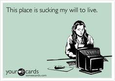 The reason these ecards are SO funny to me now is after paying my dues I have the job of my dreams and a paycheck to go with it ;-)
