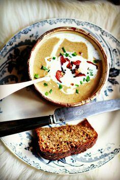La soupe au pain de Seigle {Danskt rågbröd soppa}
