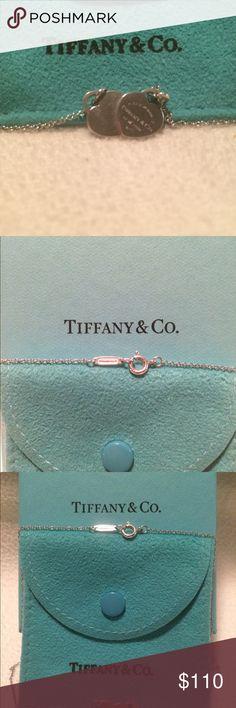 Tiffany Double Mini Heart Necklace Tiffany Double Mini Heart Necklace Tiffany & Co. Jewelry Necklaces
