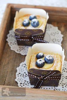 Bake for Happy Kids: Hokkaido Chiffon Cupcakes 北海道牛奶蛋糕