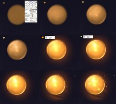 Light tutorial by ryky on deviantART (Paint tool SAI)