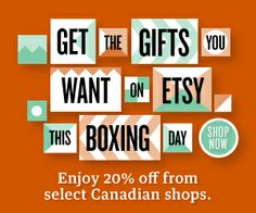 Boxing Day sale at Tawny Bee today through Dec Boxing Day, Bee, Gifts, Etsy, Presents, Bees, Gifs, Gift