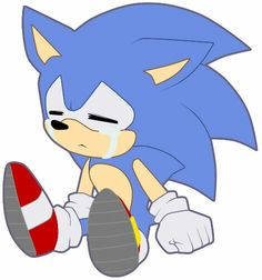 As much as it hurts me to see my son cry, it is sometimes quite adorable. Sonic the Hedgehog