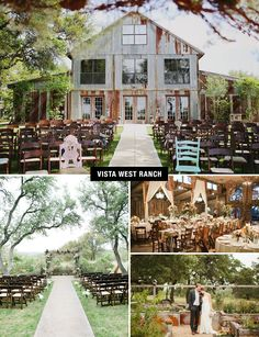 Vista West Ranch Wedding --great Texas venue!