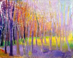 I was at strand yesterday and found a gorgeous art book by Wolf Kahn. His painting style reminds me of Monet a lot, but his landscapes h. Landscape Art, Landscape Paintings, Barn Paintings, Wow Art, Art Abstrait, Pastel Art, Art Plastique, Tree Art, Art And Architecture