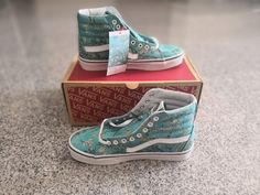 96c9d4f4db7 Details about New VANS X VAN GOGH SK8-Hi Almond Blossom White Unisex  Sneakers Limited Edition