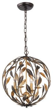 Jane Mini Chandelier - industrial - Pendant Lighting - New York - First of a Kind USA Inc