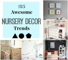 25 Awesome Nursery Decor Trends