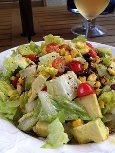 Zesty and Delicious! Avocado, Corn and Black Bean Summer Salad - Old Town Home