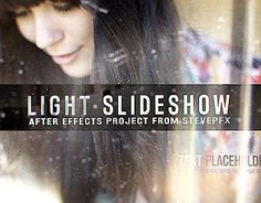"Check out new work on my @Behance portfolio: ""Light Slideshow After Effects Templates"" http://on.be.net/1L33PyG"