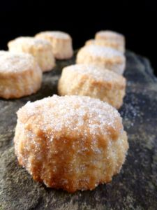 Mantecadas -- Spanish traditional Christmas sweet  via Acorn in the Kitchen
