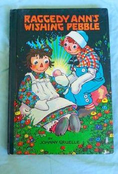 Raggedy Ann and the wishing Pebble (40 pieces)