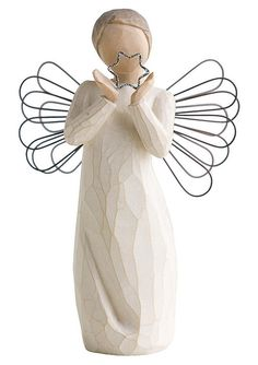 Figur, Willow Tree, »Schutzengel - Ein Stern wacht über Dir«