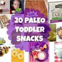20 Suggestions for Paleo Toddler Snacks, Guest Post by PaleoSitter. One of the best lists for Paleo kids I've seen. Source by medisher. Paleo On The Go, How To Eat Paleo, Lunch Snacks, Healthy Snacks, Lunches, Healthy Eating, Healthy Recipes, Baby Food Recipes, Whole Food Recipes