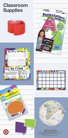 Set up your space for learning! Find teacher supplies & classroom organization ideas like bulletin boards, calendars & more. Life Hacks For School, School Study Tips, School Fun, School Lessons, Classroom Organization, Organization Ideas, Teacher Supplies, School Supplies, First Grade Spelling
