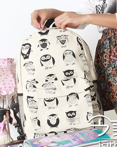 Cheap Backpacking Light Sleeping Bag Buy Quality Refrigerator Directly From China Backpack Food Suppliers 2015 New Kpop Women Owl Backpackcanvas