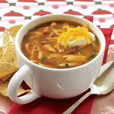 Chicken-corn Tortilla Soup from Gooseberry Patch