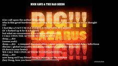 Nick Cave & The Bad Seeds - We Call Upon the Author (Lyrics).