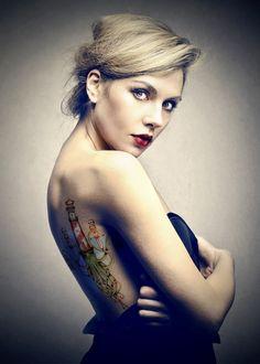 Tatouage numérique / Tutoriel réalisé sur Illustrator et Photoshop / © ADNCreative