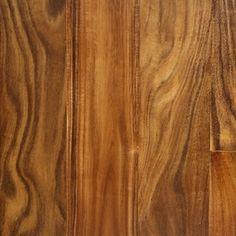 """Show details for Nuvelle Bordeaux Acacia Natural- 5"""", Dark brown floor, red floor, handscraped floor, engineered floor, acacia hardwood, antiqued floor, vintage floor, floor idea, floor trend, wide plank floor"""