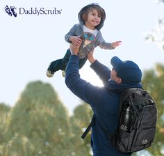#DaddyScrubs popular #Daddy Diaper Pack is the ultimate pack for the dad on-the-go.