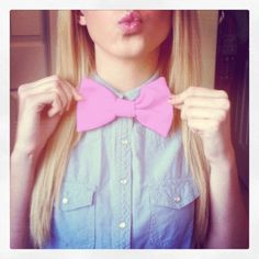 sassy, i love it. gotta love some bow ties. I mean c'mon, bow ties are cool