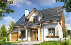 Проект дома с мансардой Спокойный; 163,4 кв.м.   Заказать проект дома, проекты загородных домов