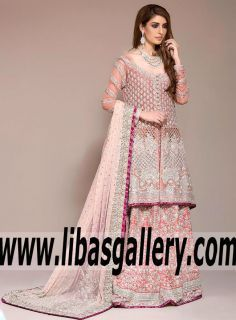 Mythical Kind of Love Asian Wedding Sharara Dress for Wedding and Special Occasions - A collection capturing the rugged grace of zainab chottani.Shop the new collection online now. www.libasgallery.com #UK #USA #Canada #Australia #France #Germany #SaudiArabia #Bahrain #Kuwait #Norway #Sweden #NewZealand #Austria #Switzerland #Denmark #Ireland #Mauritius #Netherland #bride #bridal #lehenga #latest  #newcollection #pakistanibride #asianbride #bridetobe #weddingstyle #bridalstyle…