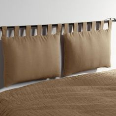 Cuore Antico: progetti Faux Headboard, Cushion Headboard, Headboards For Beds, Bed Pillows, Hidden Bed, Headboard Designs, How To Make Bed, Diy Home Decor, Furniture