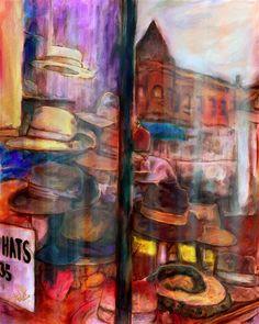 Oil Painting Artist Ca Dale Lindman