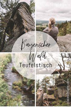 Der #Teufelstisch im Bayerischen Wald bei #Bischofsmais ist eine leichte Rundwanderung. Die Route führt dich auf verwunschenen Pfaden durch den unberührten Wald zu einer gigantischen Felsformation. Der Granitfelsen ist ein bedeutendes Geotop in Bayern. Auf ca. 900 Metern Höhe wirst du zudem auf einem Aussichtsplateau mit einem Traumblick über den #Bayerischer Wald belohnt. Bischofsmais befindet sich in der Nähe vom Großen Arber, dem höchsten Berg im Bayerischen Wald. Alle Infos auf meinem…