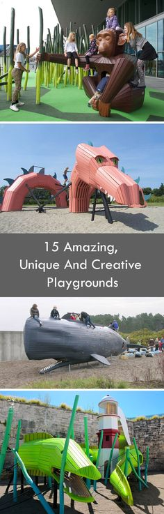 15 Amazing, Unique And Creative Playgrounds