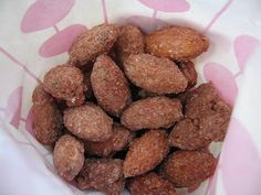 "Cinnamon ""fair"" Roasted Almonds -Sugar Free"